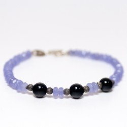 Agate and onix bracelet